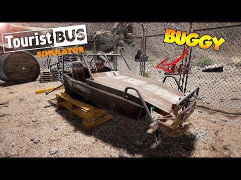 PROCURANDO AS PEÇAS PARA MONTAR O BUGGY! Tourist Bus Simulator G920  