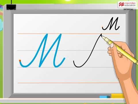 Cursive Writing   Capital Letter 'M'   Macmillan Education India
