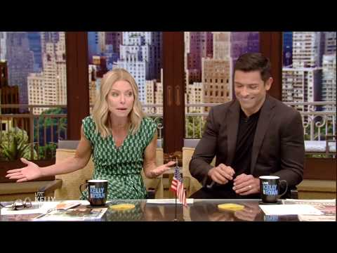 Lewis & Logan - Kelly Ripa's 18 Year Old Daughter Walks In On Her and Mark Having Sex