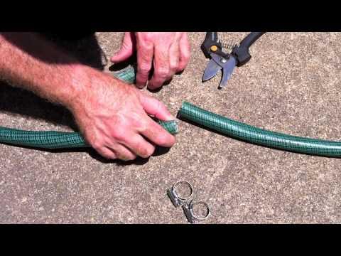 Repairing A Garden Hose