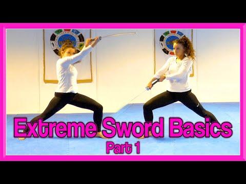 Sword Strikes & Blocks Tutorial | Extreme Sword Basics Part 1