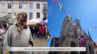 Fête médiévale  Semur-en- Auxois(21)  2018