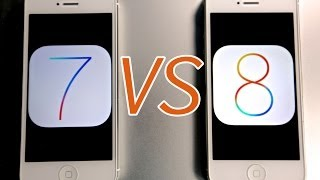 iOS 8 VS iOS 7 On iPhone 5 - Which Is Faster?