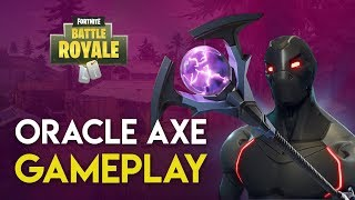 Fortnite: Battle Royale PS4 Gameplay | ORACLE AXE GAMEPLAY