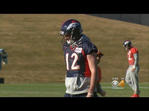 Paxton Lynch Back As Broncos Starting Quarterback