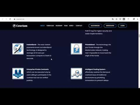 Overview:  Cowrium Project – Multidimensional Blockchain and Smart Contract Innovation driven