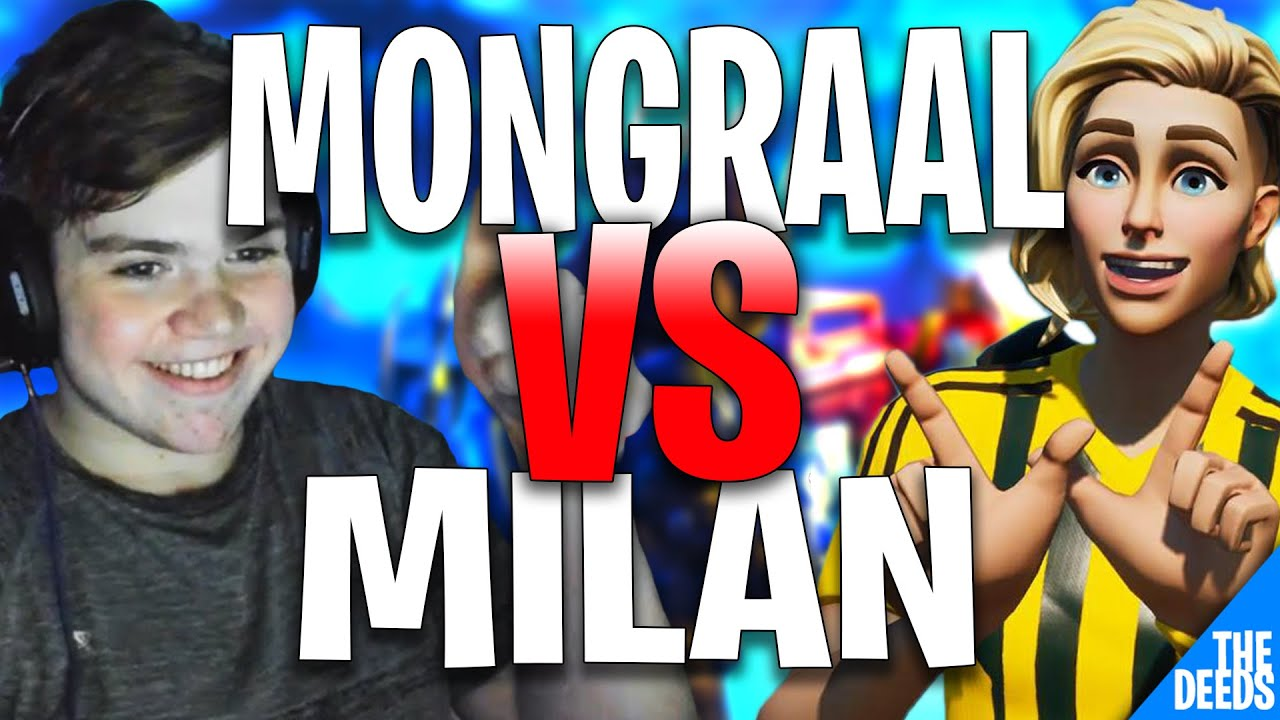 FaZe Mongraal 1 VS 1 Milan - Little Warm Up Before Going Into Daily Trio Cup | *EPIC 1v1 FIGHTS*