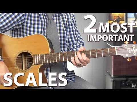 2 Scales Every Guitar Player Should Know