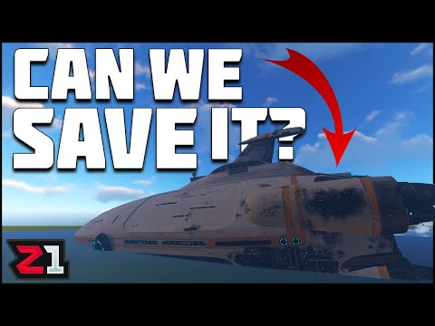Can You Save The Aurora Before It Blows Up?! Subnautica | Z1 Gaming