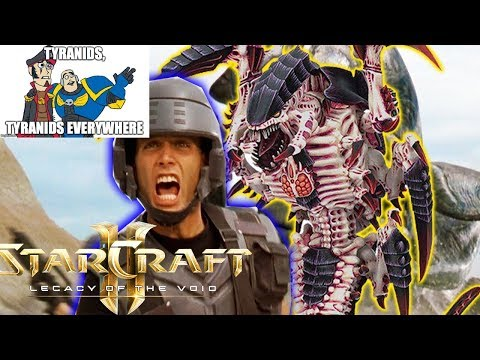 What If Starship Troopers Fought The Tyranids Starcraft 2 Mod