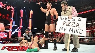 Santino Marella vs. Jack Swagger: Raw, June 9, 2014