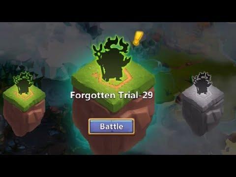 Forgotten Trials 29 Dove For The WIN Castle Clash
