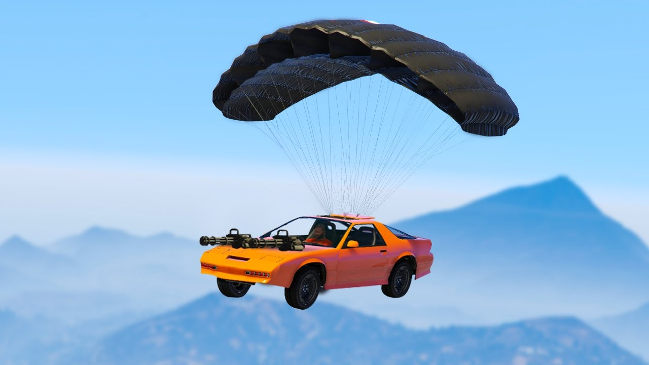 Insane 5 745 600 Parachute Car Gta 5 Import Amp Export