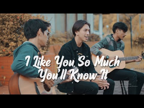 I like you so much you'll know it