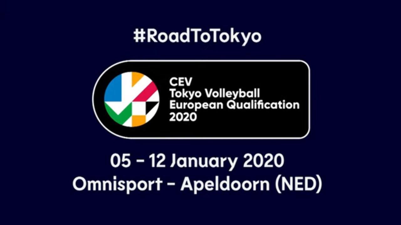 #RoadToTokyo | CEV Toyko European Qualification 2020 - Women - Trailer