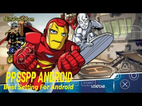 PSP Android) Marvel Super Hero Squad | PPSSPP Android | Best
