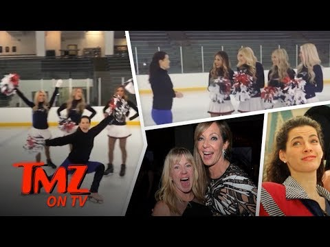 Nancy Kerrigan Hangs Out With Other Hated Ladies | TMZ TV