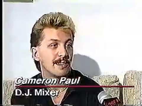 Cameron Paul 1988 TV News Report