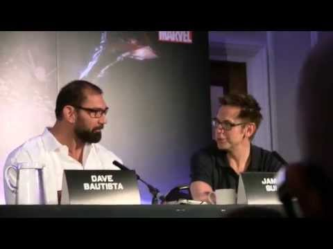 Marvel's GUARDIANS OF THE GALAXY European Press Conference