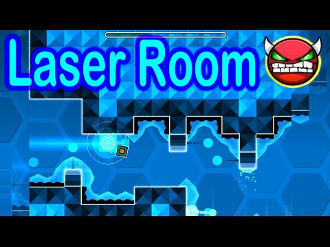 Laser Room (Demon) by Nature Geometry Dash HD