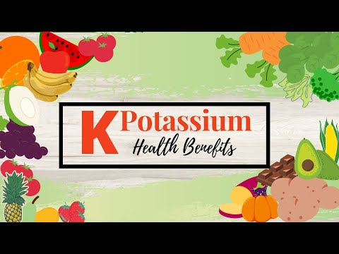Potassium| What are the Health Benefits Of Potassium