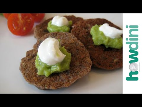 How to make black bean cakes