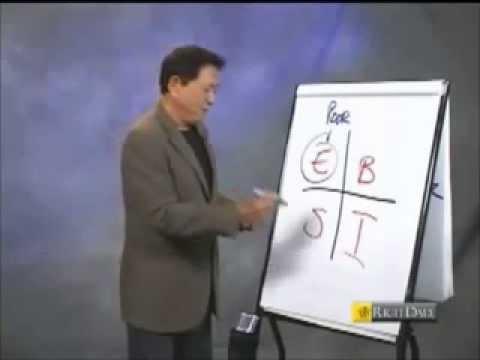 Robert Kiyosaki - Rich Dad Poor Dad - How to Be Rich - Cashflow Quadrant, Financial Literacy
