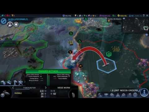 Sid Meier's Civilization Beyond Earth - Rising Tide Gameplay Part 5 | Advancements
