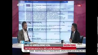İhsan Şenocak Caner TASLAMAN'A HADDİNİ BİLDİRDİ