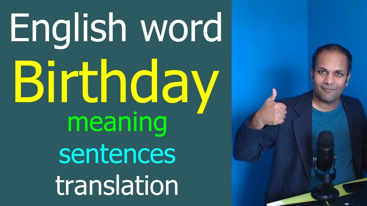 Birthday meaning in hindi