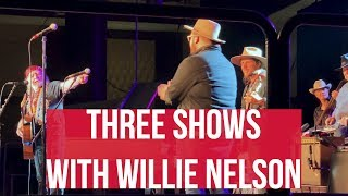 Download Opening For A Legend / Three Shows With Willie Nelson Mp3 and Videos
