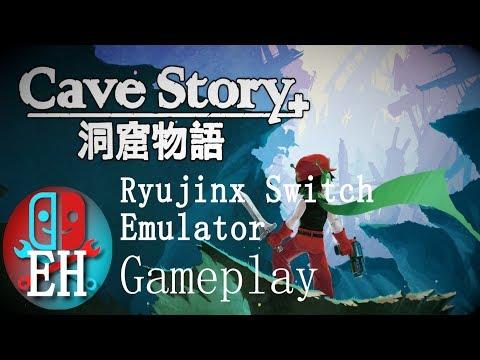 Cave Story plus Gameplay Speed Boost Ryujinx