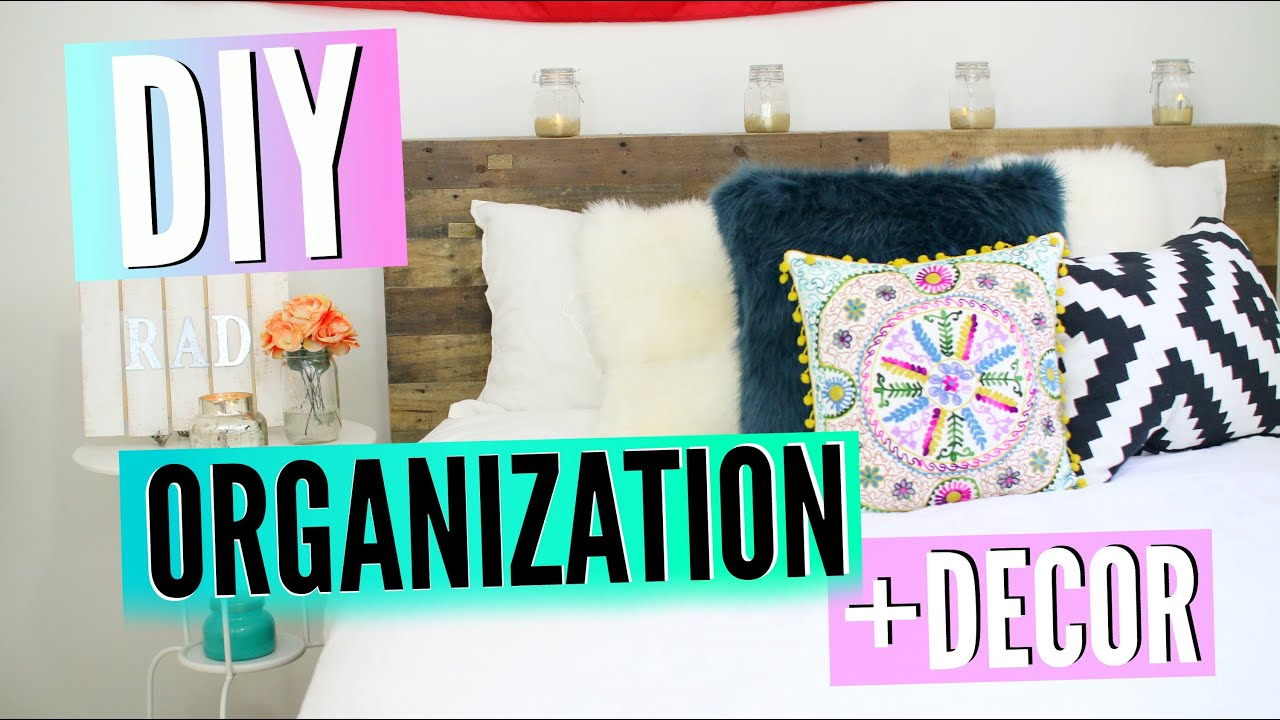 Back to school diy room decor organization redecorate for Room decor organization