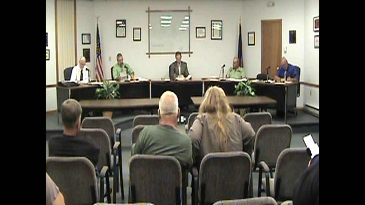 Rouses Point Village Board Meeting  10-3-16