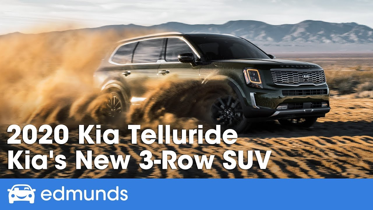 Best Three Row Suv 2020 2020 Kia Telluride   First Drive Review of Kia's New 3 Row SUV