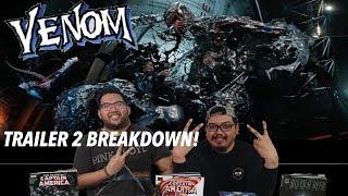 VENOM VS. THE 5 SYMBIOTES! VENOM TRAILER 2 BREAKDOWN!!!