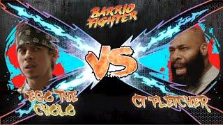 (TEASER) EGO THE CHOLO VS. CT FLETCHER - BARRIO FIGHTER