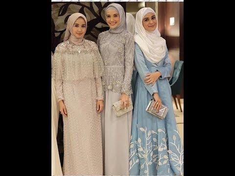 Inpirasi Kebaya Muslim Modern Untuk Hijaber 2018