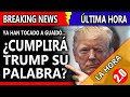 """¿CUMPLIRÁ #TRUMP SU PALABRA? - YA HAN """"TOCADO UN PELO"""" DE GUAIDÓ... ¿HABRÁ INTERVENCIÓN?"""