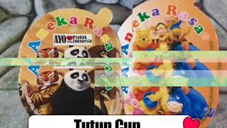kertas penutup cup es krim Tutup cup 60 ml Jual Tutup Cup Malang 0821-4077-0858