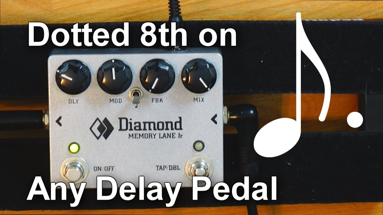 Pedalboard Tips 17 How To Setup Dotted Eighth Delays On Any Delay Circuits Gt Boss Dd 2 Digital Guitar Pedal Schematic Diagram 4 Ways