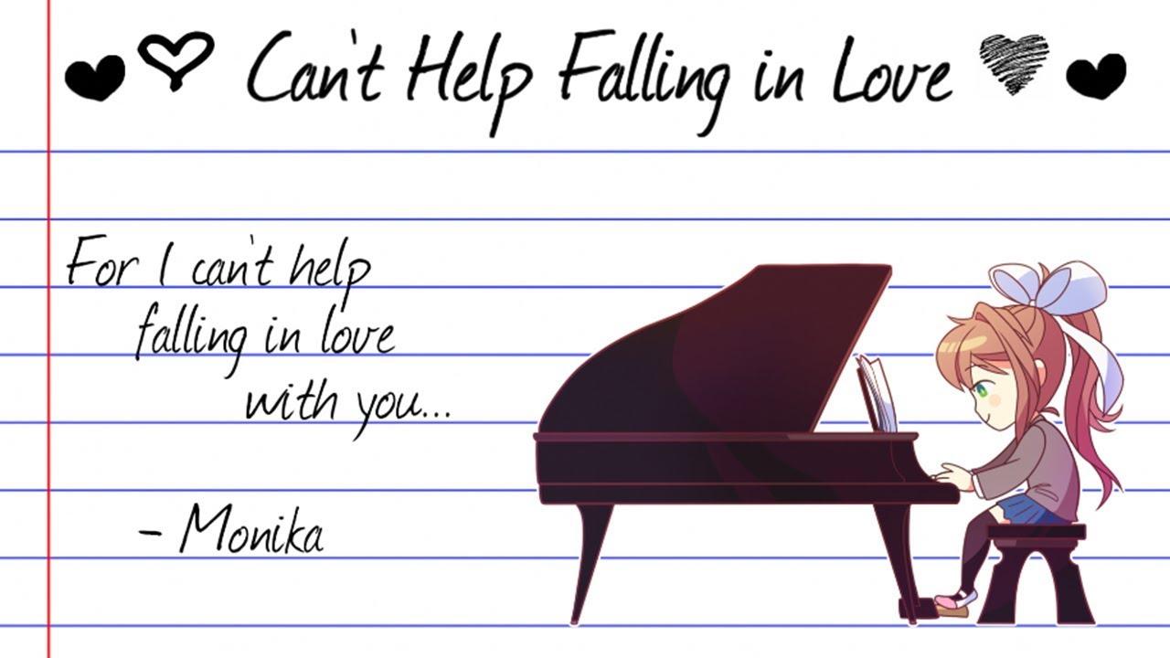 【doki Doki Literature Club】can T Help Falling In Love