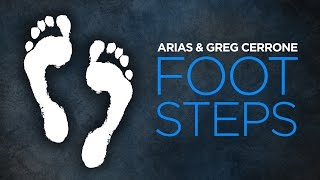 Arias & Greg Cerrone - Foot Steps (Cover Art)