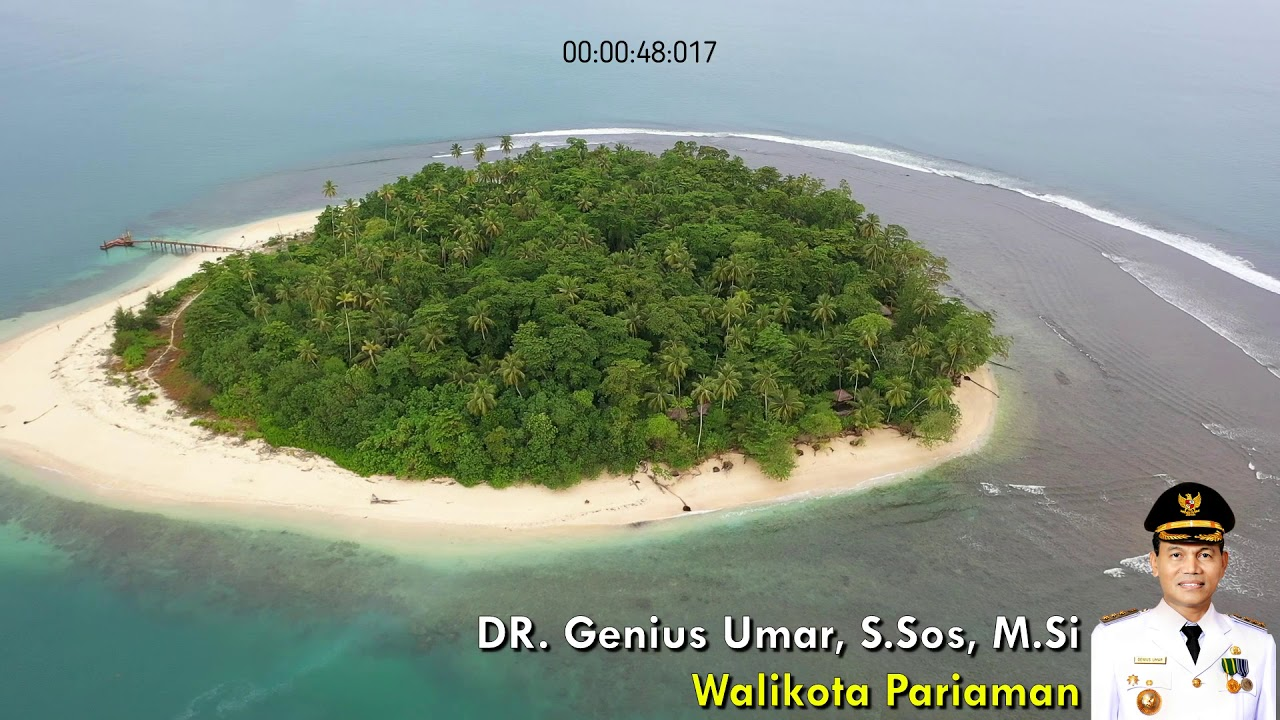 Pulau Tangah Kota Pariaman Youtube