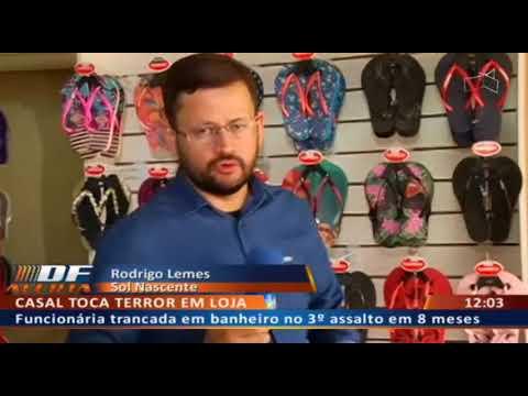 DFA - Loja de sandálias assaltada três vezes desde que inaugurou