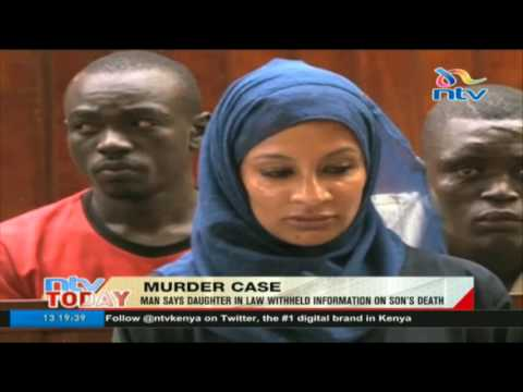 Watamu murder case: Slain man's father says daughter-in-law withheld information