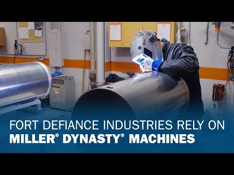Fort Defiance Industries Relies on Miller Dynasty Machines