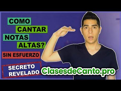 Como Cantar Notas Altas (Agudas) Sin Forzar Tu Voz? | Ampliar tu Rango Vocal | Técnica y Ejercicios