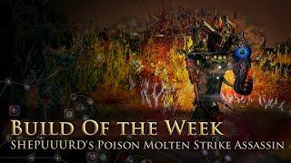 Build of the Week S8E1: SHEPUUURD's Acid Molten Strike Assassin