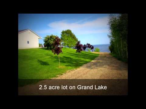 Grand Lake, New Brunswick Furnished Waterfront Home FOR SALE
